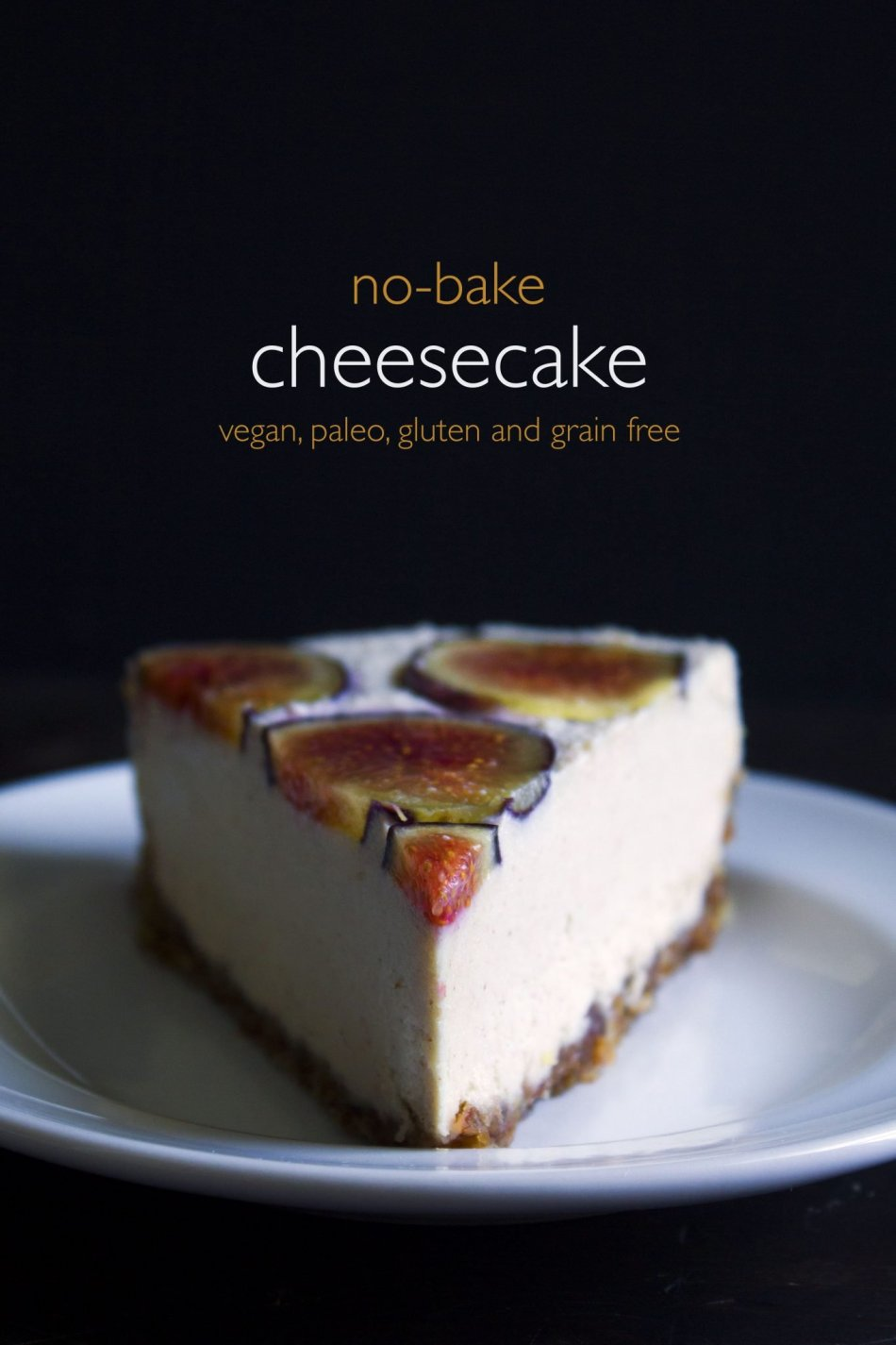 Vegan No-Bake Cheesecake With Fresh Fruit | Paleo and free of gluten, grain, dairy, and eggs!