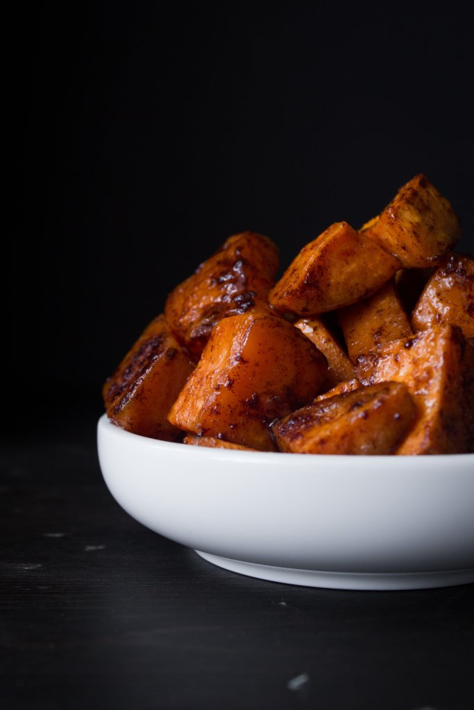 Maple Glazed Sweet Potatoes | Gluten, grain, dairy, and refined sugar free
