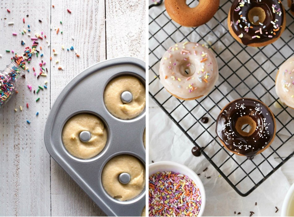 Gluten-Free Birthday Cake Doughnuts   Wife Mama Foodie