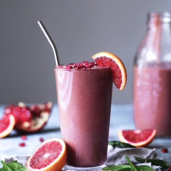 Blood Orange Berry Smoothie