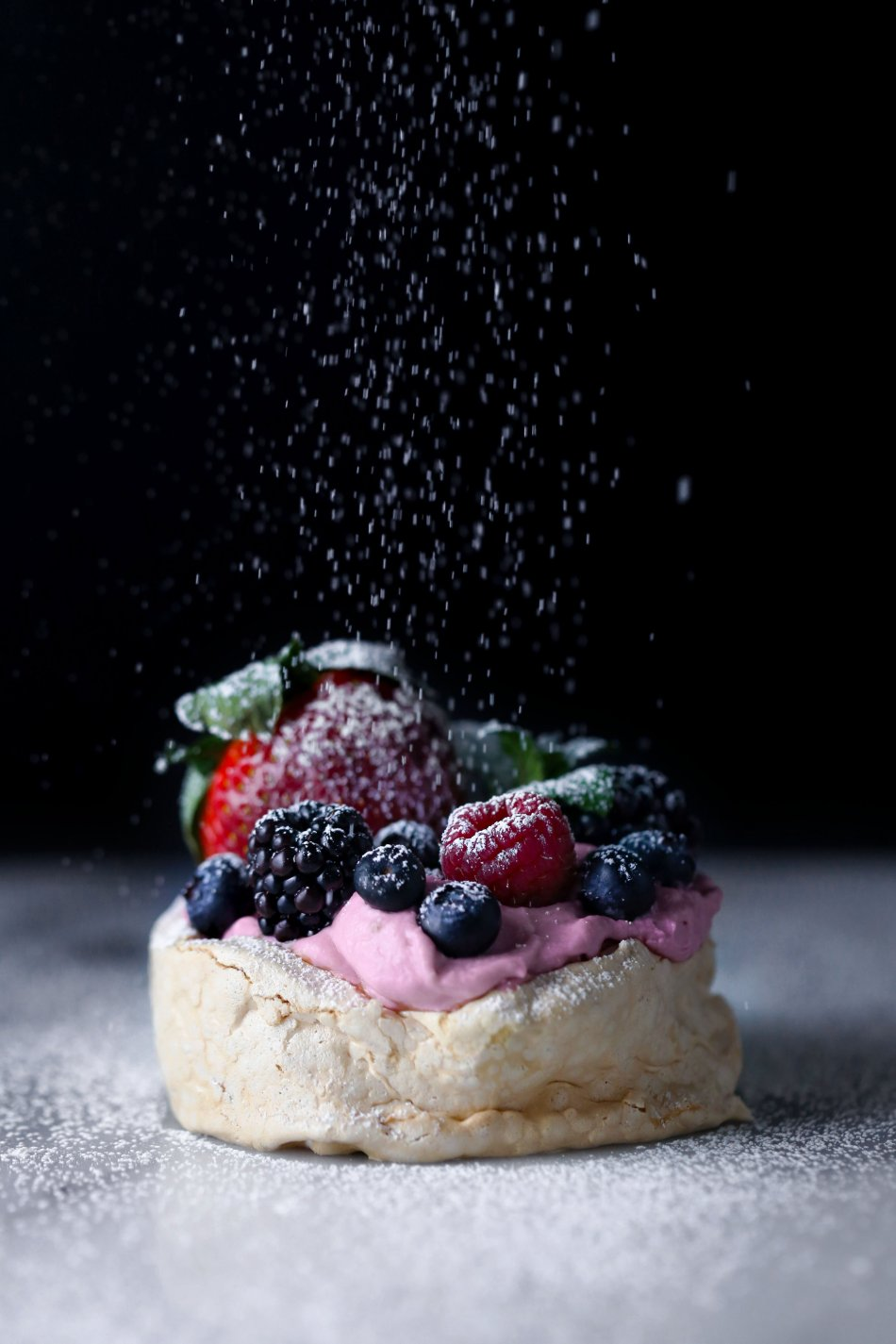 Mini Mixed Berry Pavlovas | Free of gluten, grains, and dairy