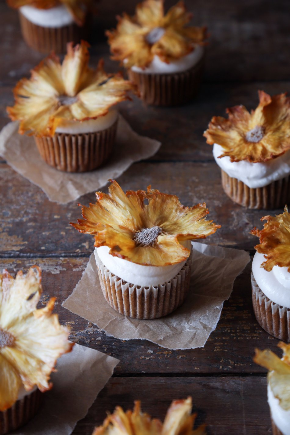 Naturally Sweetened Hummingbird Cupcakes | Free of Gluten, Dairy, and Refined Sugar.