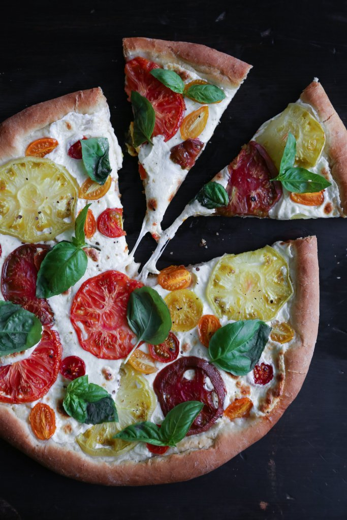 Heirloom Tomato Pizza