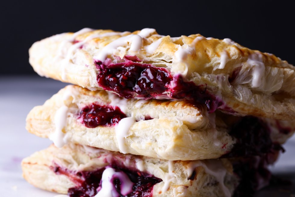 Easy Berry Turnovers   Free of dairy and refined sugar. Vegan friendly.