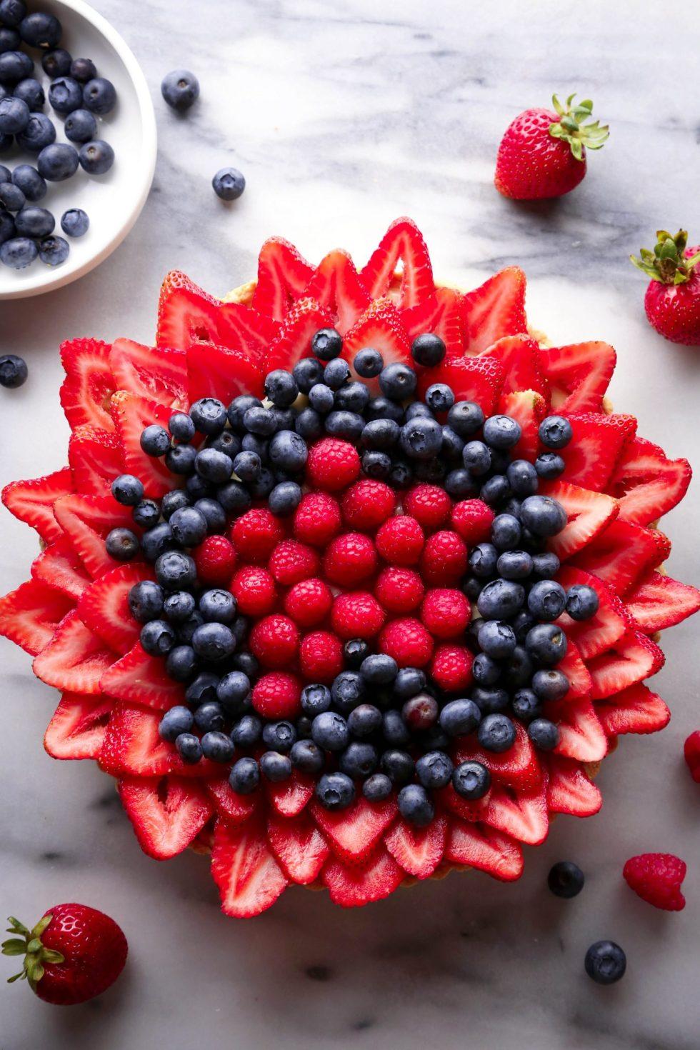 Simple Fruit Tart | Wife Mama Foodie