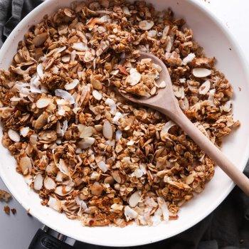 5-Minute Skillet Granola
