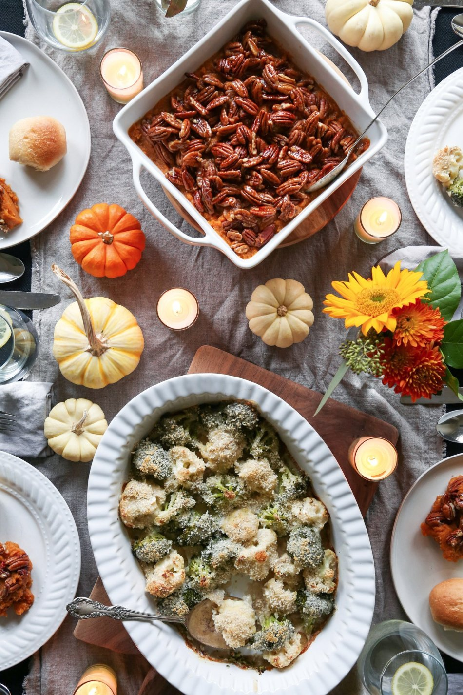 Maple Pecan Butternut Squash Casserole | Wife Mama Foodie