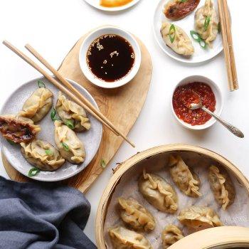 Simple Vegetable Dumplings