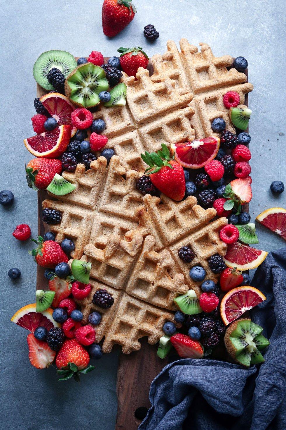 Simple Spelt Waffles | Refined Sugar Free and Vegan Friendly | Wife Mama Foodie