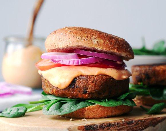 Vegan Veggie Burgers