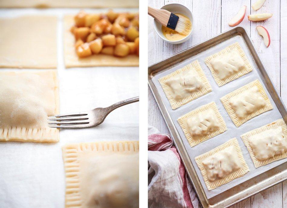 Apple Pie Pop Tarts | Vegan friendly with gluten free and refined sugar free option