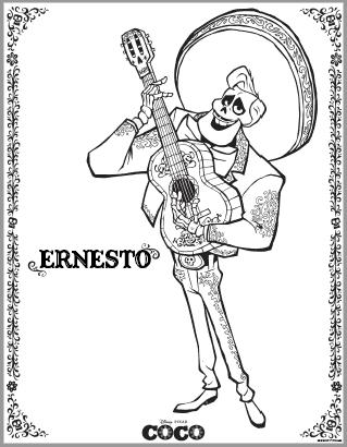 Ernesto from Coco