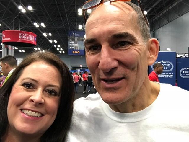 NYC Marathon Jeff Amell