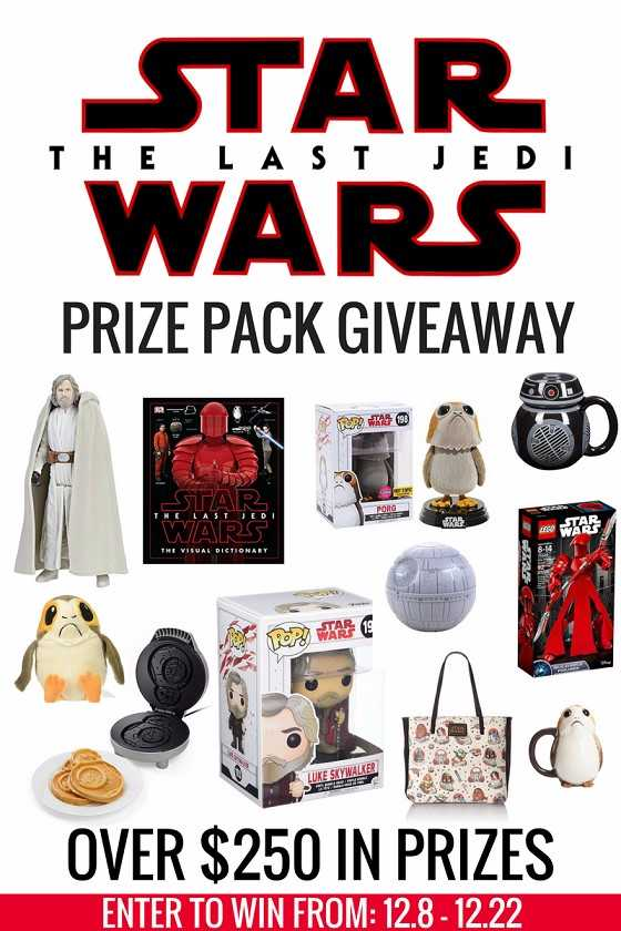 Star Wars Prize Pack Giveaway