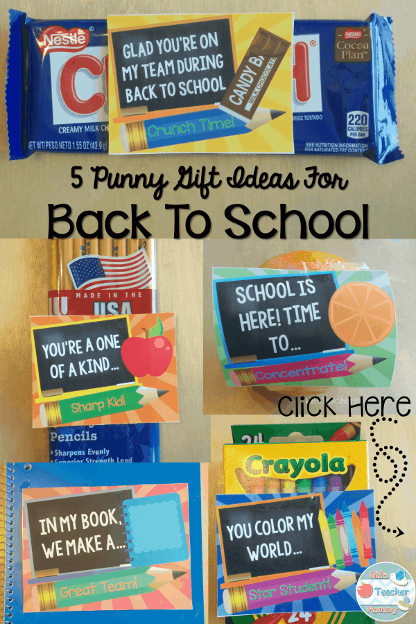 5 Punny Back to School Gift Ideas