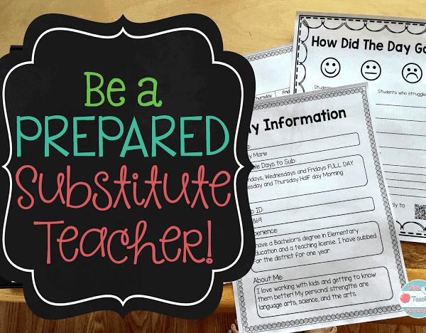 Be a Prepared Substitute Teacher!
