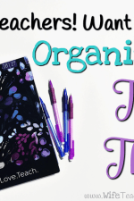 Getting Organized with a Teacher Planner