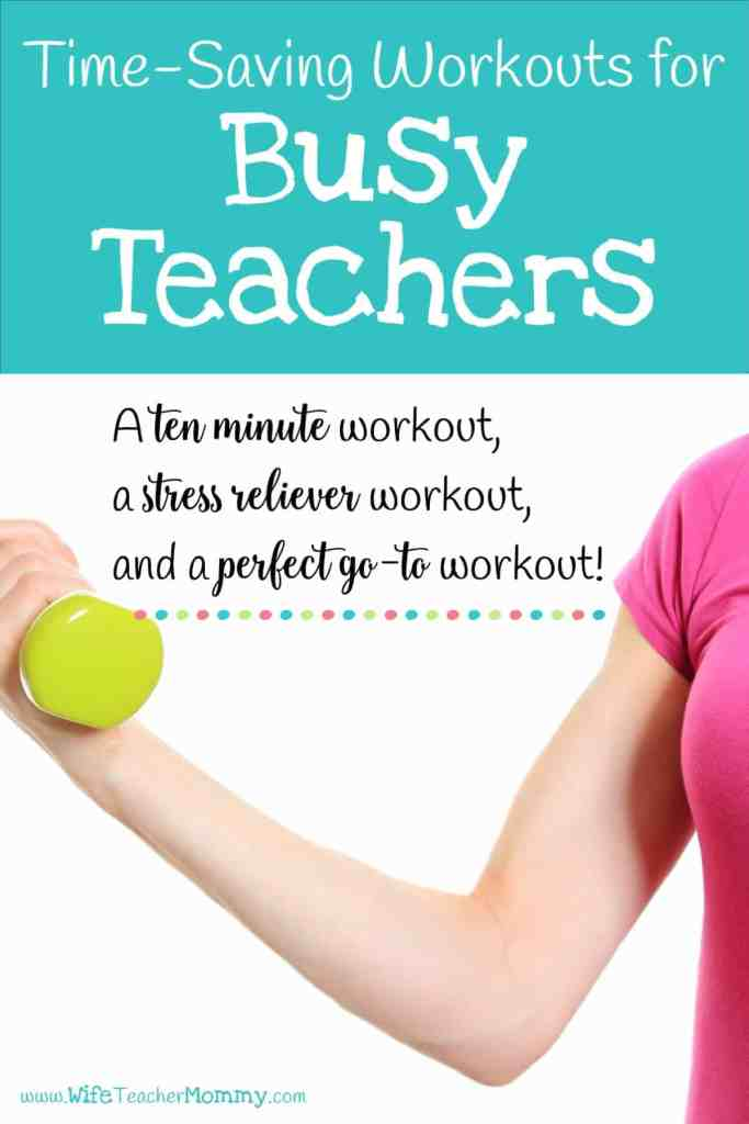 Pinterest Teacher Workouts