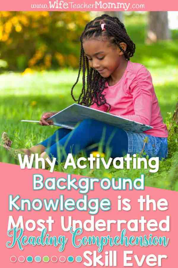 Why Activating Background Knowledge is the Most Underrated Reading Comprehension Skill Ever