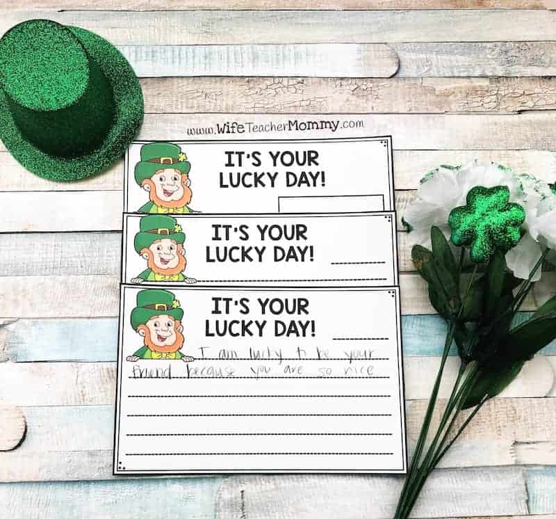 This St. Patrick's Day secret student sneaky leprechaun activity is a very fun St. Patrick's Day teaching resource!