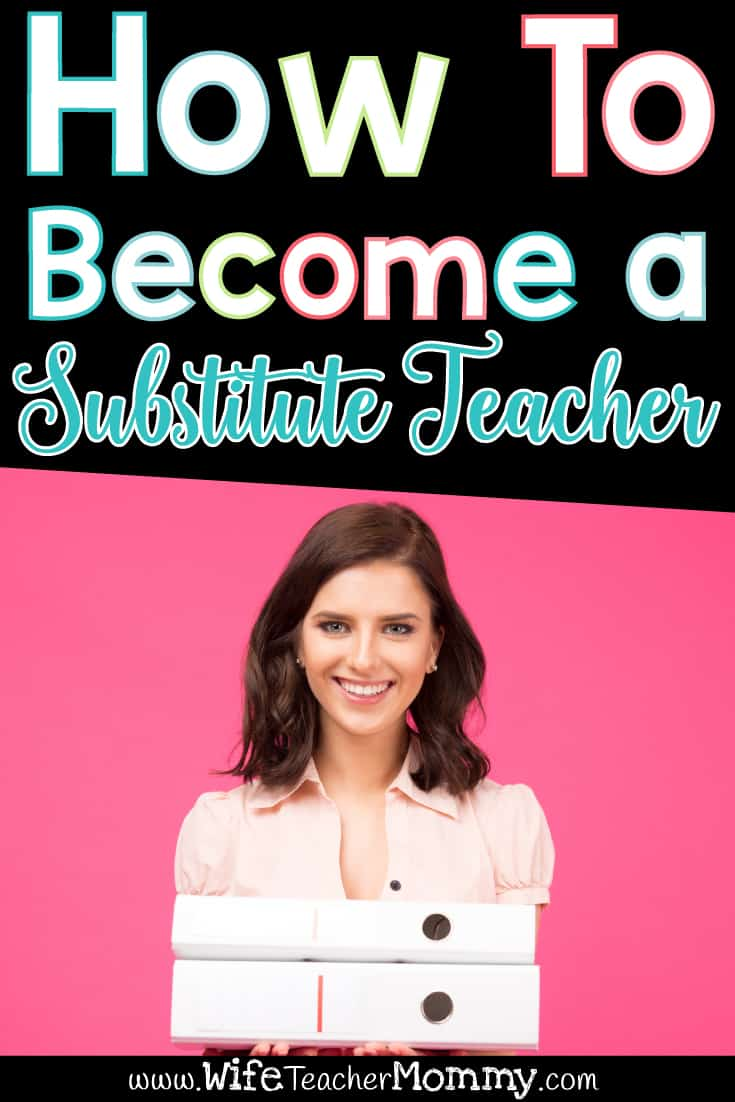 So you want to become a substitute teacher (also known as a guest teacher or supply teacher)? Subbing can be a great and flexible job especially for teacher moms who want to be able to work on their own schedule. If you want to be a sub, check out this substitute blog post about how to get a job as a substitute teacher. Also be sure to check out our subbing ideas, substitute teacher activities, and free sub plan printables for substitutes! #substituteteaching #substituteteacher