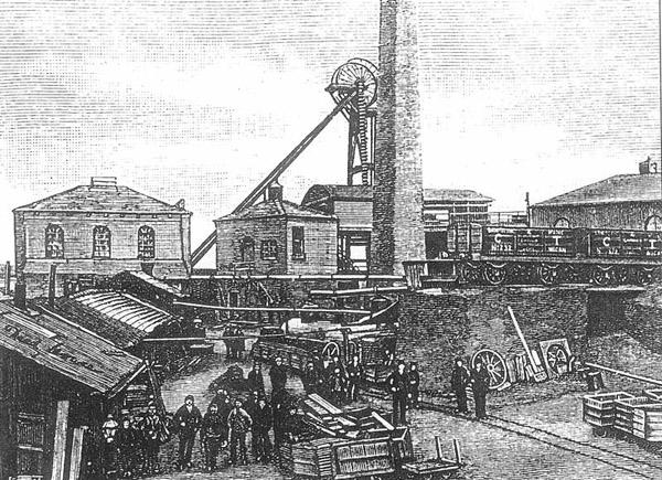 Mains Colliery, Bamfurlong 14th Dec 1892