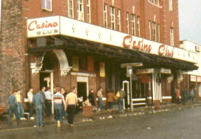 Wigan Casino, Station Road, late 70s.
