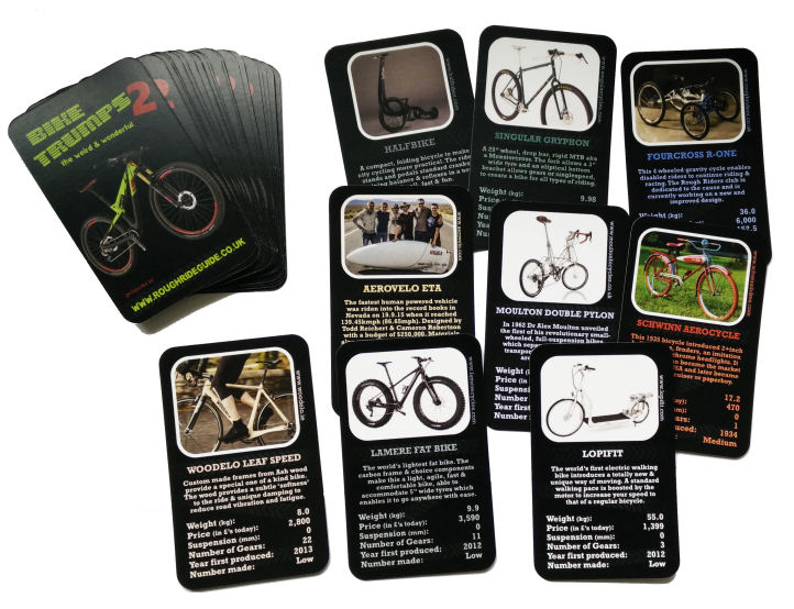 Cordee Bike Trumps 2 - Playing Cards - Gift Items Amazon.com eGift Cards Amazon.com eGift Cards Cordee Bike Trumps 2 Playing Cards Gifts Neutral NotSet CCY117