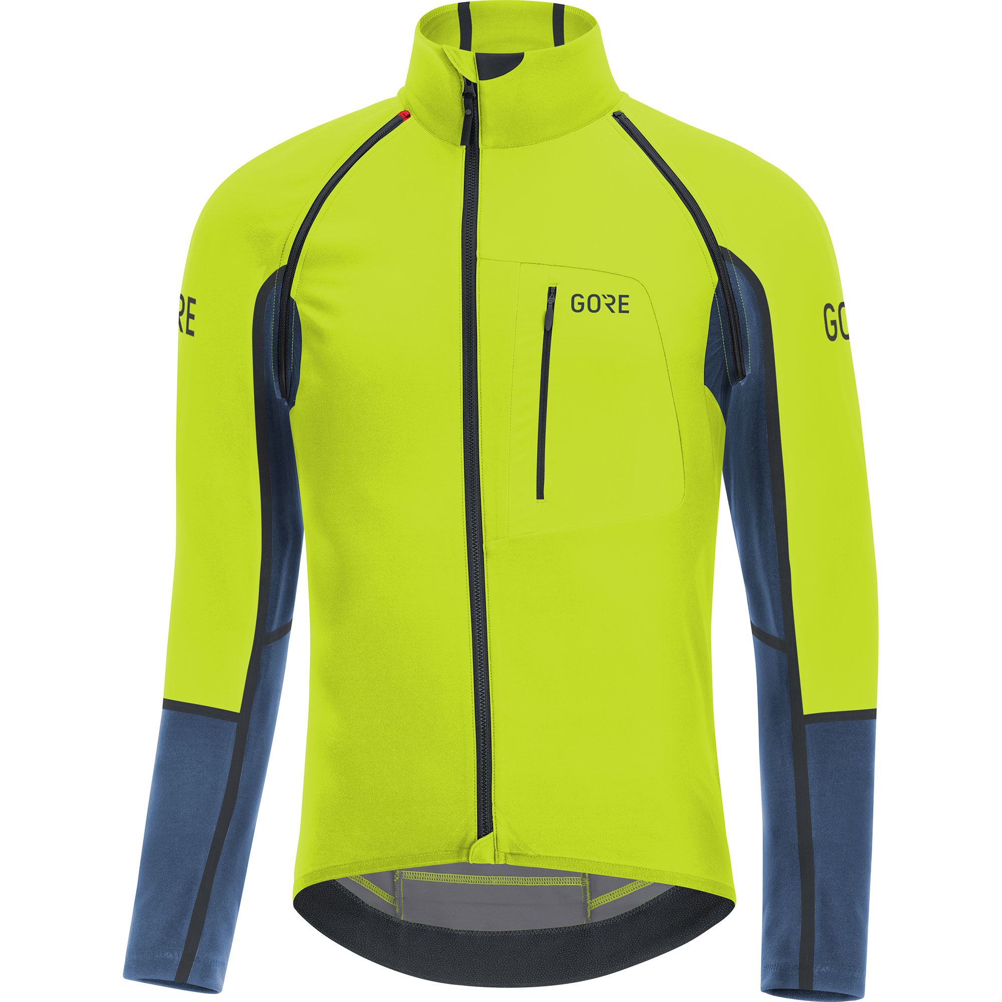 Gore Wear C7 Windstopper Pro Zip-Off Jersey