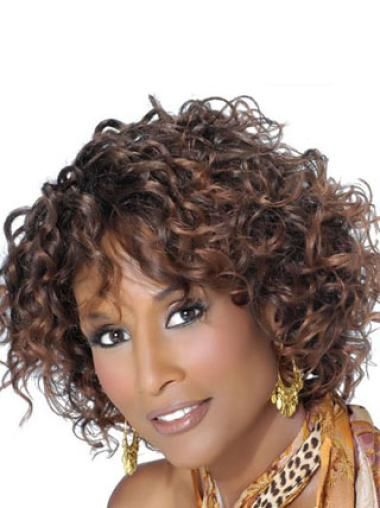 Beverly Johnson Classic Short Voluminous Curly Lace Front