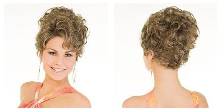 Olivia Updo Wig by Perfect Image
