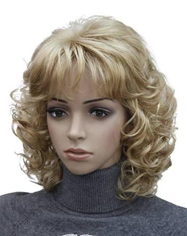 Kalyss Short Blonde Wig