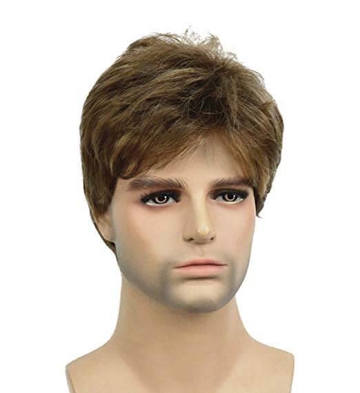 Lydell Golden Brown Short Men Wig