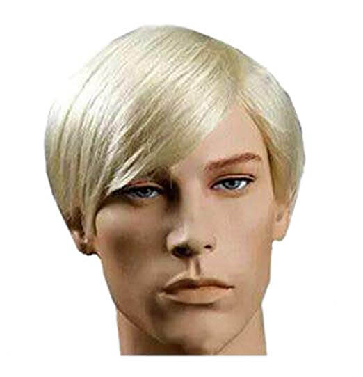 New Handsome Short and Straight Wig