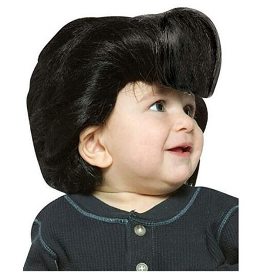 Rasta Imposta Baby Elvis Wig