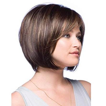 Short Bob Wig for white women