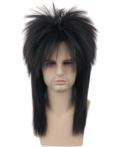 Topcosplay 80s Halloween Wig