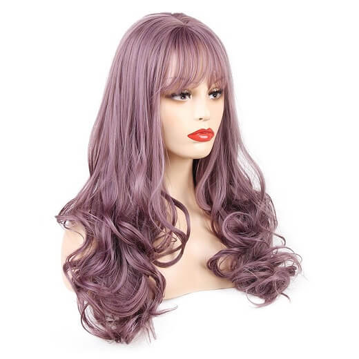 Light Purple Hairpiece for Cosplay