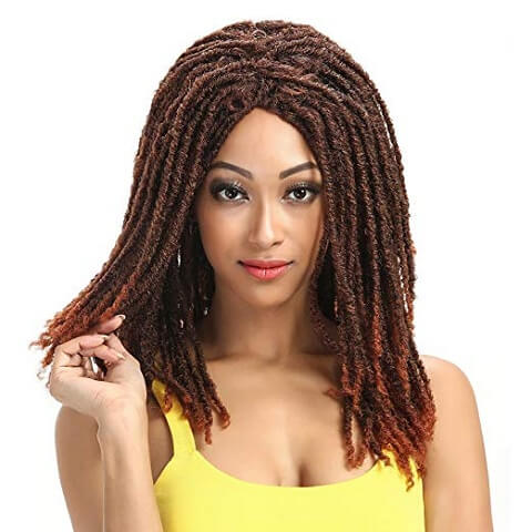 Sleek Long Dreadlock Wig