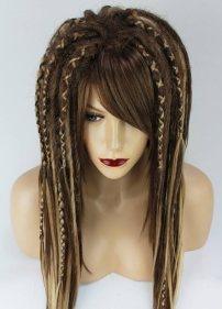 Two Dots Hair Synthetic Dread Wig