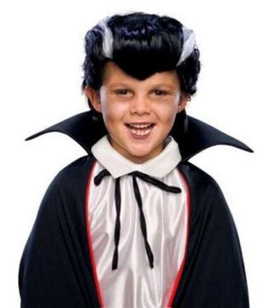 Vampire Dracula Kids Wig