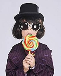 Willy Wonka Kid Wig