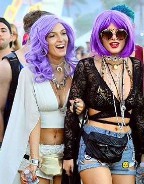 Coachella Valley Music and Arts Festival wig