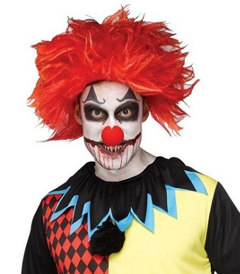 Evil Clown Wig