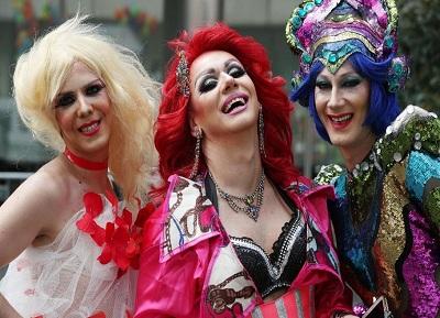 LGBT Pride Month wig