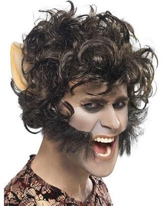 Werewolf Man Wolf Wig