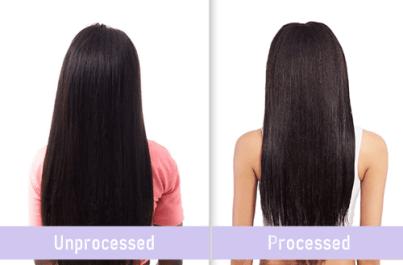 Processed Vs Unprocessed Hair-3