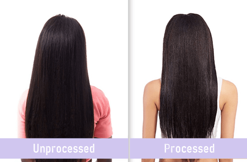 Processed Vs Unprocessed Hair-3