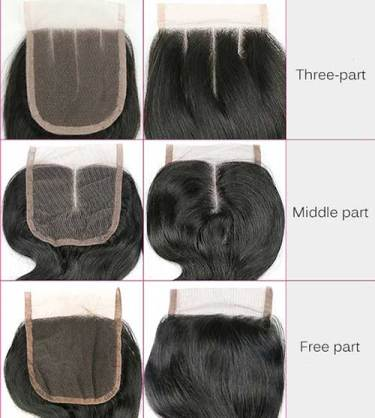 lace closure frontal wigs