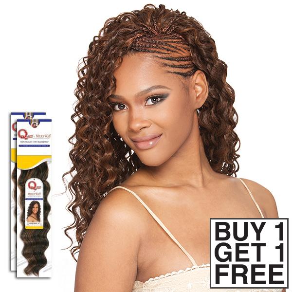 Milky Way Que Human Hair Blend Braid Appeal Bulk Buy 1